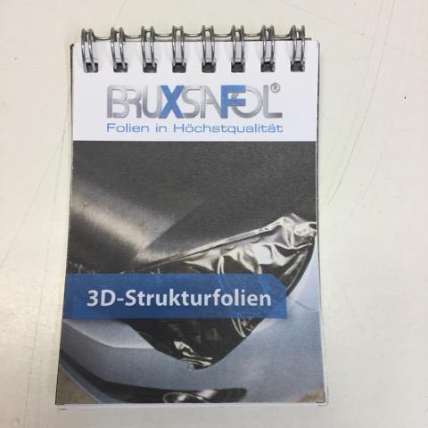Vzorkovník 3D Strukturfolie
