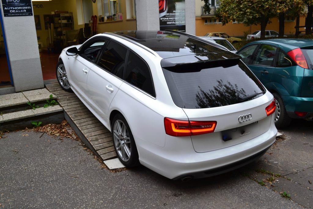 Color Change Audi A6 folia Typ CC 5010