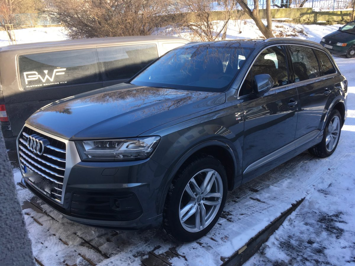 Audi Q7 Ochranná fólia XPEL