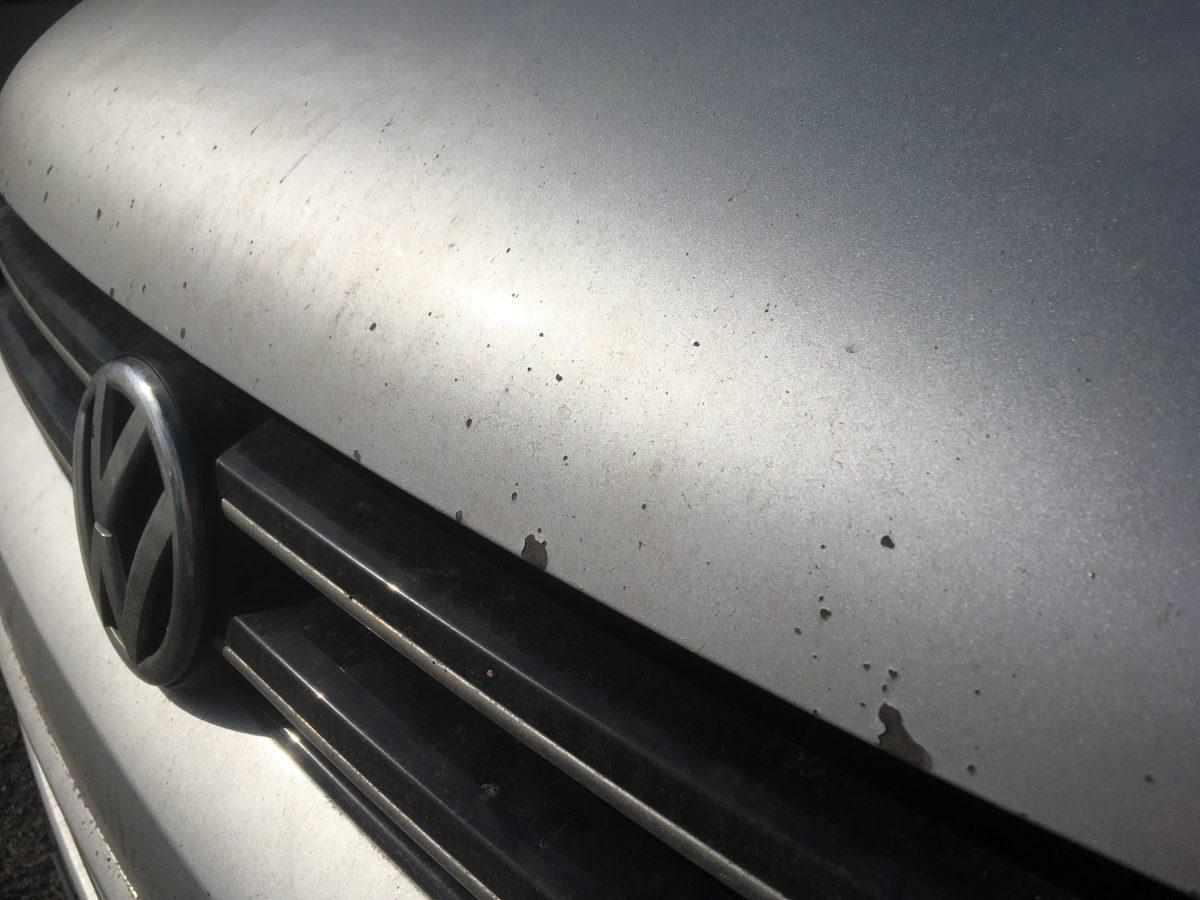 takto dopadne auto bez ochrannej folie XPEL VW Caravelle